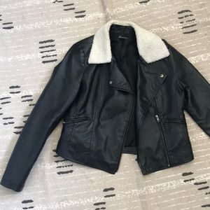 Forever 21 Faux Leather Jacket